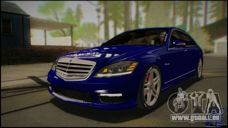 Mercedes-Benz S65 AMG 2012 Road version pour GTA San Andreas