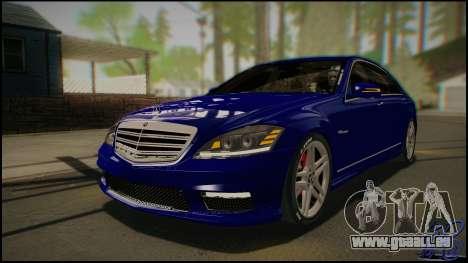 Mercedes-Benz S65 AMG 2012 Road version pour GTA San Andreas