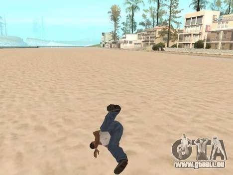 Parkour mod v2.0.4 für GTA San Andreas zweiten Screenshot