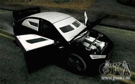 GTA 5 Karin Kuruma v2 Armored IVF für GTA San Andreas Rückansicht