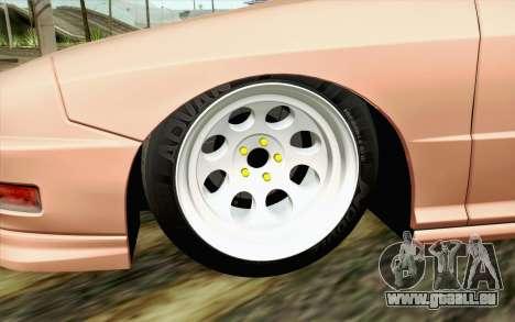 Acura Integra Type R 2001 JDM pour GTA San Andreas sur la vue arrière gauche