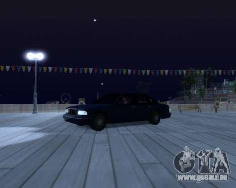 ENB for SAMP by MAKET pour GTA San Andreas quatrième écran