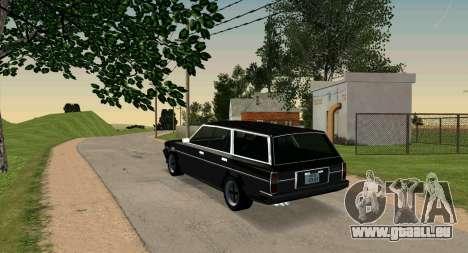 TOYOTA Mark II Wagon (GX70) pour GTA San Andreas laissé vue