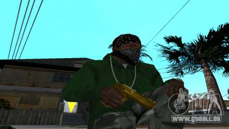 Gold Desert Eagle pour GTA San Andreas