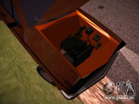 Rat Look Perennial pour GTA San Andreas vue intérieure