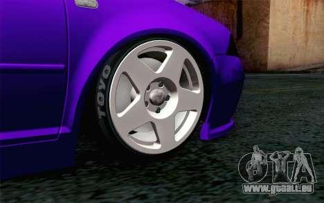 Volkswagen Jetta GLI 2010 TnTuning für GTA San Andreas zurück linke Ansicht
