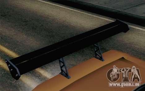 Infernus Edicte v2 pour GTA San Andreas vue de droite