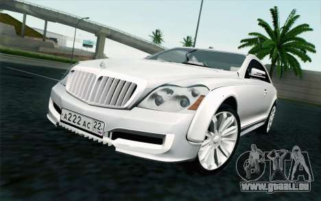 Maybach 57S Coupe Xenatec pour GTA San Andreas