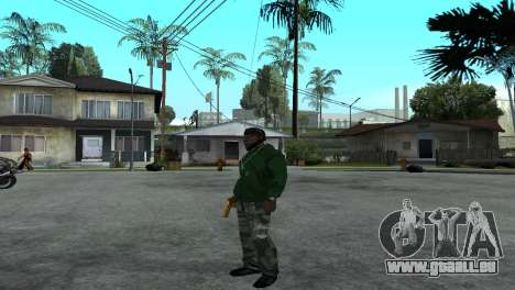 Gold Desert Eagle für GTA San Andreas her Screenshot
