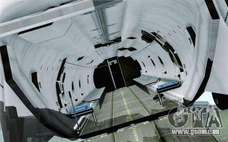 AN-32B Croatian Air Force Opened für GTA San Andreas rechten Ansicht