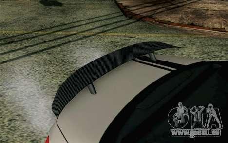 Mercedes-Benz C250 AMG Brabus Biturbo Edition EU pour GTA San Andreas vue de droite