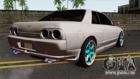 Nissan Skyline R32 Drift JDM für GTA San Andreas linke Ansicht
