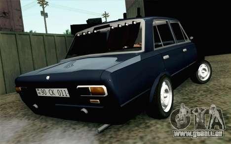 VAZ 21011 Hobo pour GTA San Andreas laissé vue