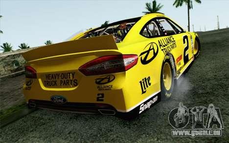 NASCAR Ford Fusion 2013 v4 pour GTA San Andreas laissé vue