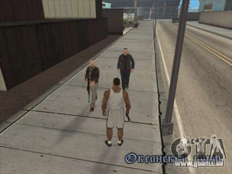 Les Russes dans le quartier Commercial pour GTA San Andreas neuvième écran