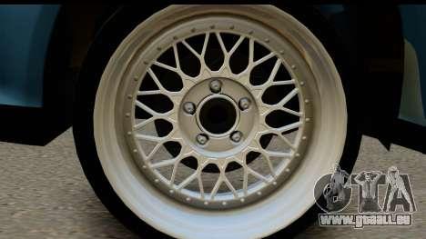 Honda Civic EG6 pour GTA San Andreas sur la vue arrière gauche