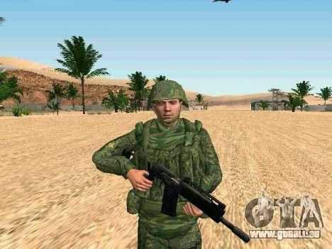 L'armée russe est une nouvelle forme d' pour GTA San Andreas quatrième écran