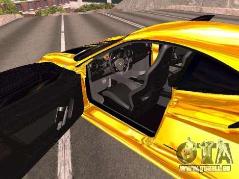 Ferrari F430 für GTA San Andreas Innen