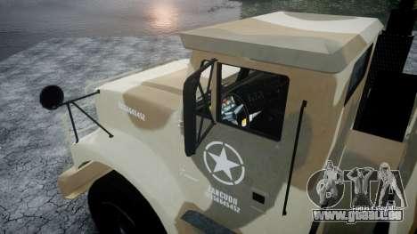 GTA 5 Barracks v2 pour GTA 4 est une vue de l'intérieur