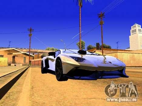 Lamborghini Aventador Novitec Torado pour GTA San Andreas