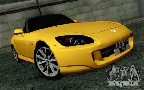 Honda S2000 Cabrio pour GTA San Andreas