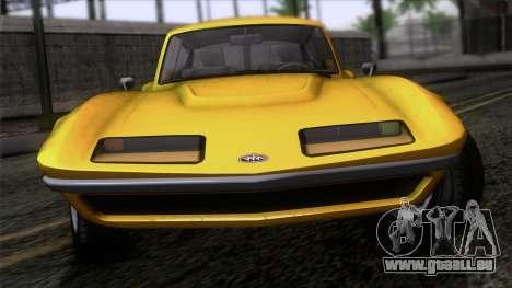 GTA 5 Invetero Coquette Classic HT IVF pour GTA San Andreas