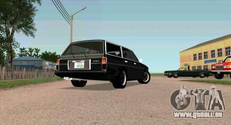 TOYOTA Mark II Wagon (GX70) pour GTA San Andreas sur la vue arrière gauche