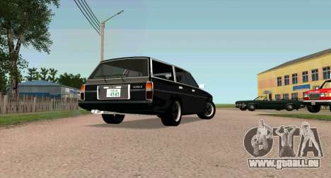 TOYOTA Mark II Wagon (GX70) für GTA San Andreas zurück linke Ansicht