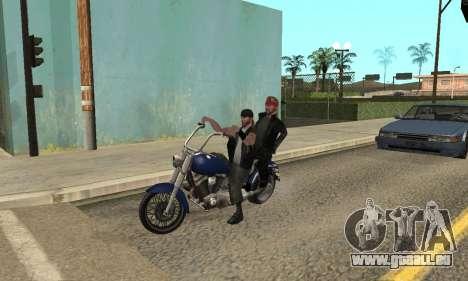 Modifier les zones les gangs et leurs armes v1.1 pour GTA San Andreas neuvième écran
