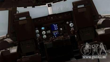 Boeing E-767 Japan Air Self-Defense Force EoJ pour GTA San Andreas vue intérieure