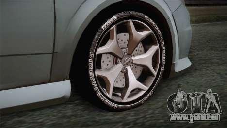 Opel Astra OPC Stock pour GTA San Andreas sur la vue arrière gauche