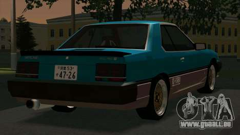 Nissan Skyline 2000 Turbo Intercooler RS-X kouki für GTA San Andreas rechten Ansicht