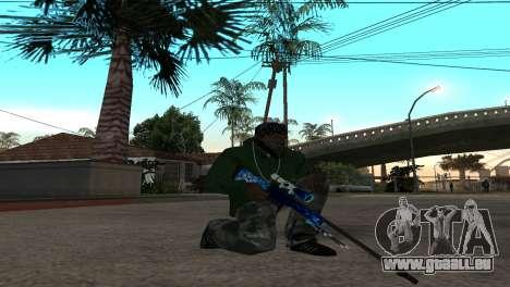 AWP DragonLore из CS:GO für GTA San Andreas