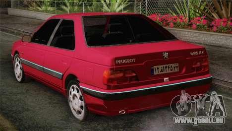 Peugeot Pars für GTA San Andreas linke Ansicht