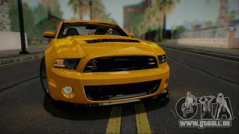 Ford Shelby GT500 2013 Vossen version für GTA San Andreas