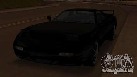 Beta ZR-350 Final für GTA San Andreas Rückansicht