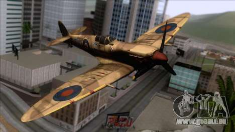 Stanislaw Skalski Supermarine Spitfire MK IXC für GTA San Andreas