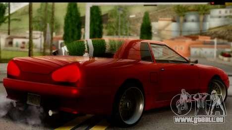 Elegy V1 pour GTA San Andreas laissé vue