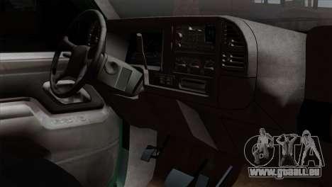 Chevrolet Suburban GMT400 1998 für GTA San Andreas rechten Ansicht