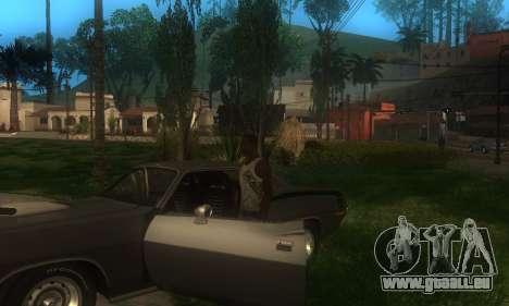 ENB pour les moyennes et PC pour GTA San Andreas deuxième écran