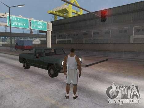 Les Russes dans le quartier Commercial pour GTA San Andreas sixième écran