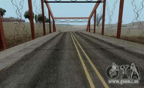 HQ Roads by Marty McFly pour GTA San Andreas deuxième écran