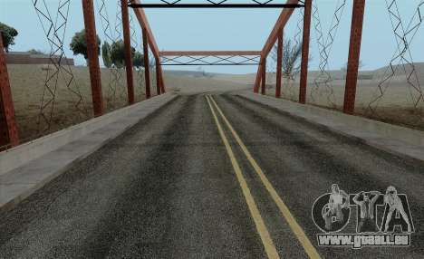 HQ Roads by Marty McFly für GTA San Andreas zweiten Screenshot
