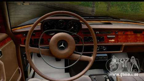 Mercedes-Benz 300 SEL 6.3 (W109) 1967 HQLM pour GTA San Andreas vue intérieure