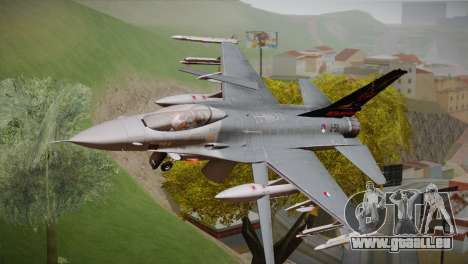 F-16 Fighting Falcon 60th Anniv. of Volkel AFB pour GTA San Andreas