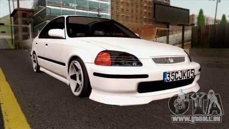 Honda Civic 1.6 für GTA San Andreas