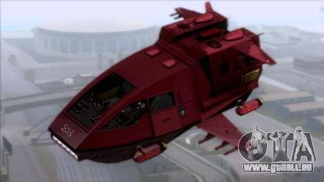 Shuttle v1 (no wheels) pour GTA San Andreas