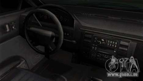 GTA 5 Vapid Stanier II IVF für GTA San Andreas rechten Ansicht