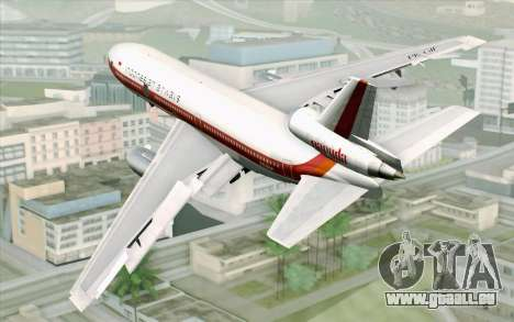 DC-10-30 Garuda Indonesia Sulawesi pour GTA San Andreas laissé vue
