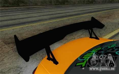 Mitsubishi Lancer Evolution X v2 für GTA San Andreas rechten Ansicht